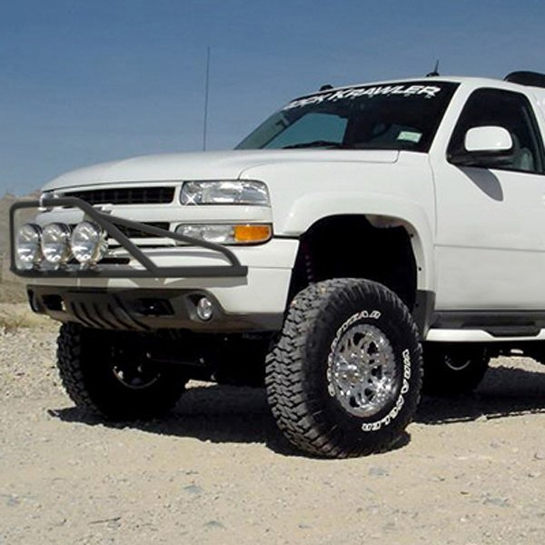 N fab chevy silverado 1999 pre runner style bumper light bar for pre runner style bumper light bar for up to 3x9 round aloadofball Choice Image