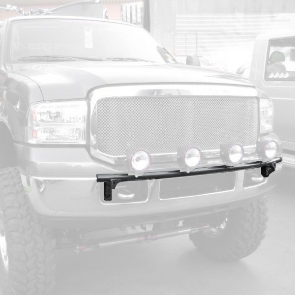 fab bumper light bar with tabs for up to 4x9 round lights. Black Bedroom Furniture Sets. Home Design Ideas