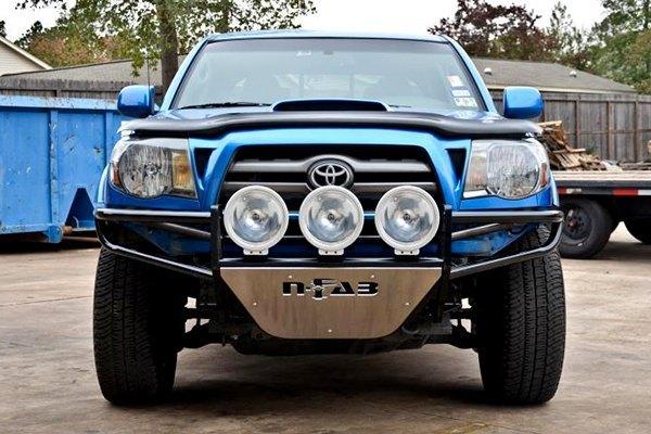 N Fab Bumpers : N fab t rsp full width black front pre runner