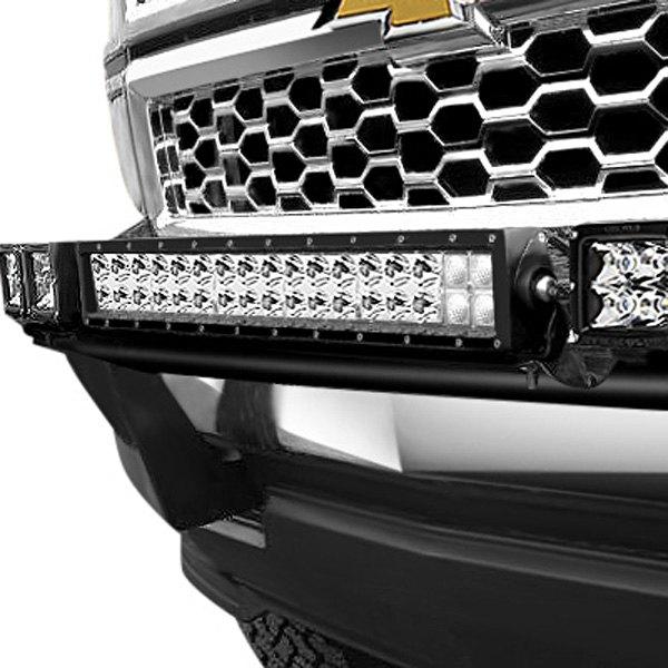 N Fab Gmc Sierra 2014 Light Bar With Multi Mount For Led Lights