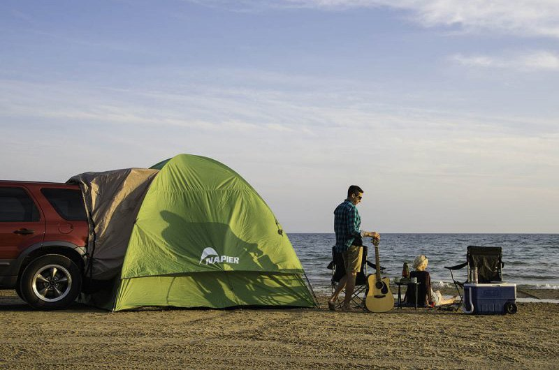 ... Backroadz SUV TentNapier® ... & Napier® 13100 - Green Backroadz SUV Tent