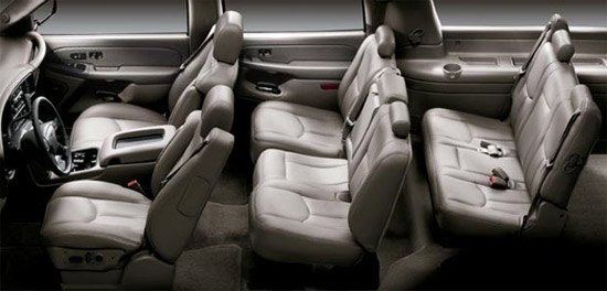 six seat suv with captain seats autos post. Black Bedroom Furniture Sets. Home Design Ideas
