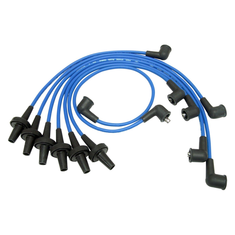 NGK® - Ford F-250 1965 Spark Plug Wire Set on cobra spark plug wires, 240sx spark plug wires, bosch spark plug wires, red spark plug wires, coil on plug wires, mopar spark plug wires, racing spark plug wires, magnecor plug wires, performance spark plug wires, moroso spark plug wires, autolite spark plug wires, standard spark plug wires, best spark plug wires, bad spark plug wires, solid core spark plug wires, motorcycle spark plug wires, msd spark plug wires, cosworth spark plug wires, holley spark plug wires,