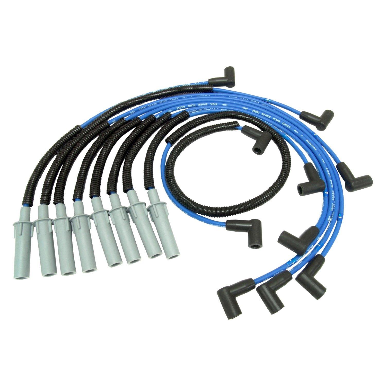 NGK® 53027 - Spark Plug Wire Set on