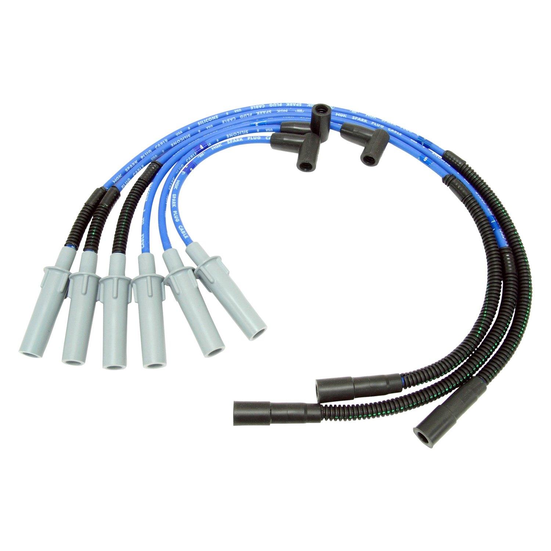 NGK® 53141 - Spark Plug Wire Set on