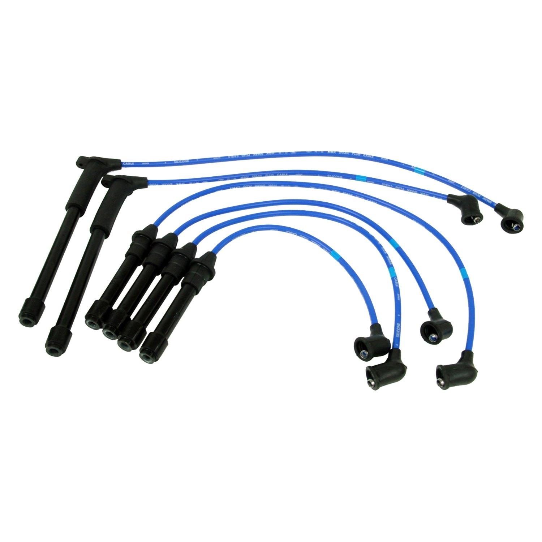for nissan frontier 1999 2004 ngk 8113 spark plug wire set. Black Bedroom Furniture Sets. Home Design Ideas