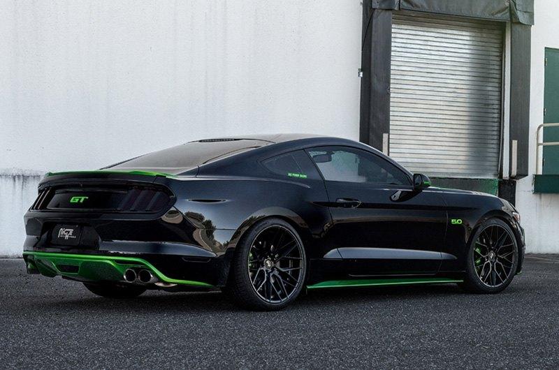 Niche Wheels Mustang >> Niche M190 Gamma Wheels Matte Black Rims