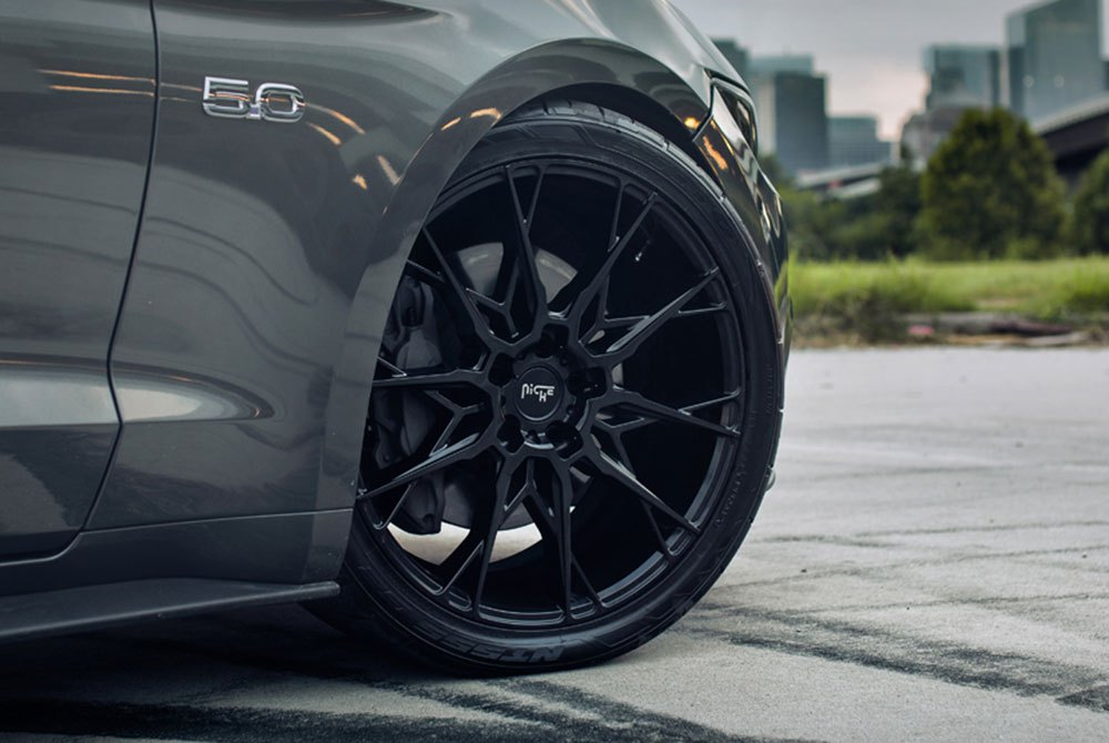 Mustang Black Rims >> NICHE® M183 STACCATO Wheels - Matte Black Rims