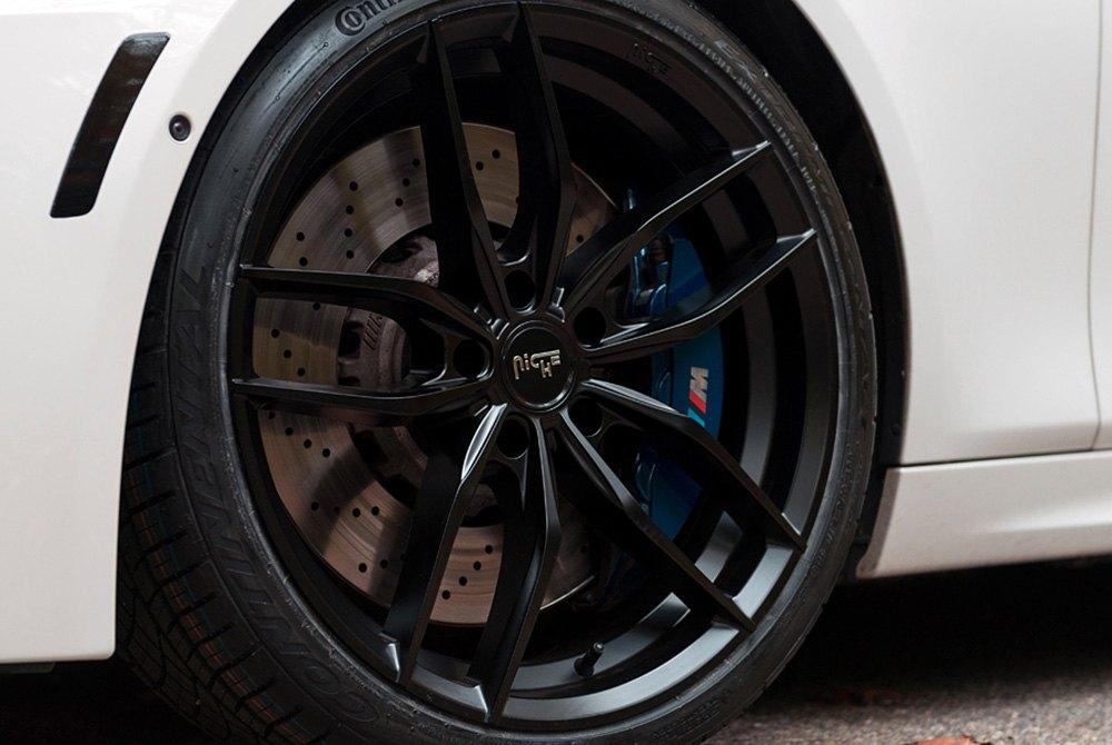 Bmw Bolt Pattern >> NICHE® M203 VOSSO Wheels - Matte Black Rims - M203209043+38-G