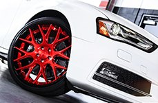 NICHE® - CIRCUIT Multipiece Series Custom Painted on Audi S4
