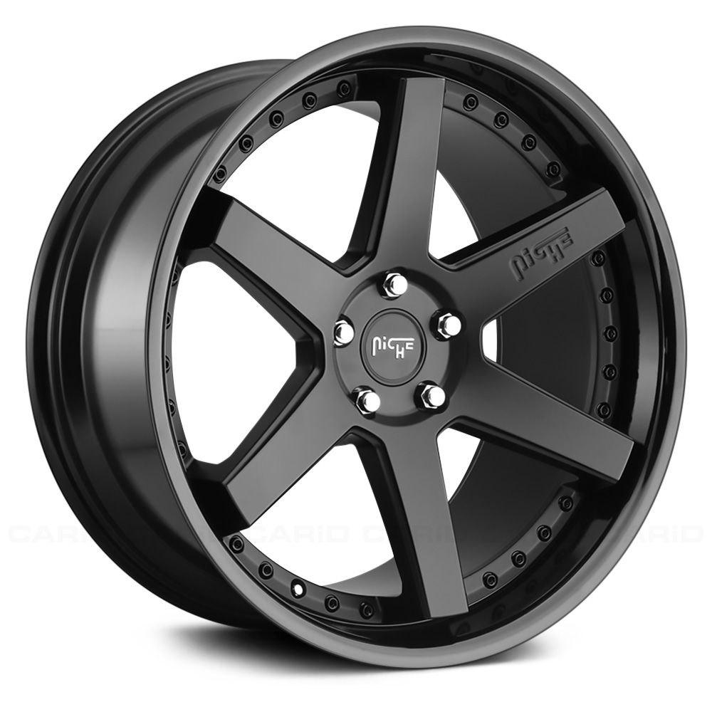 Niche 174 M192 Altair Wheels Matte Black With Gloss Black