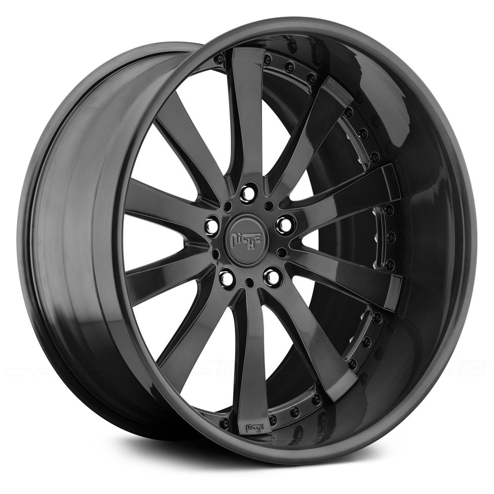 Niche element pc forged series wheels any finish rims