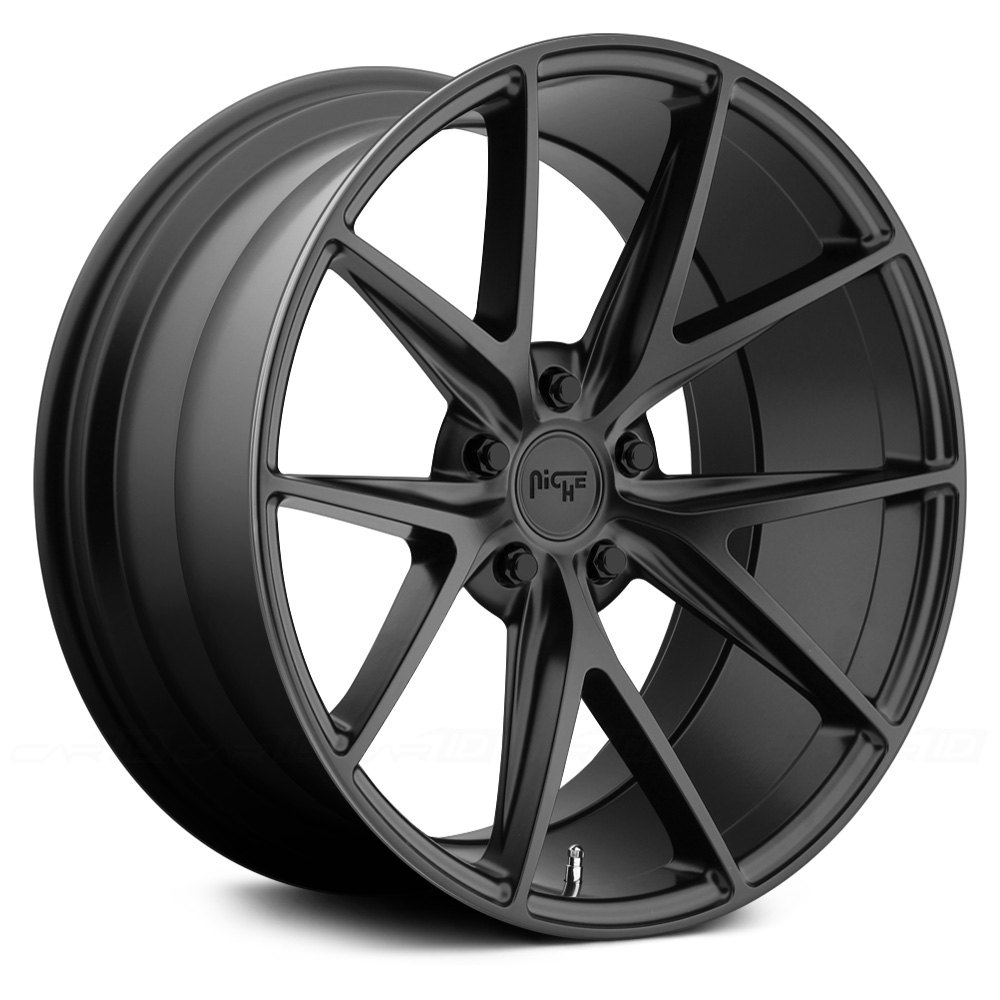 Niche 174 Misano Wheels Matte Black Rims