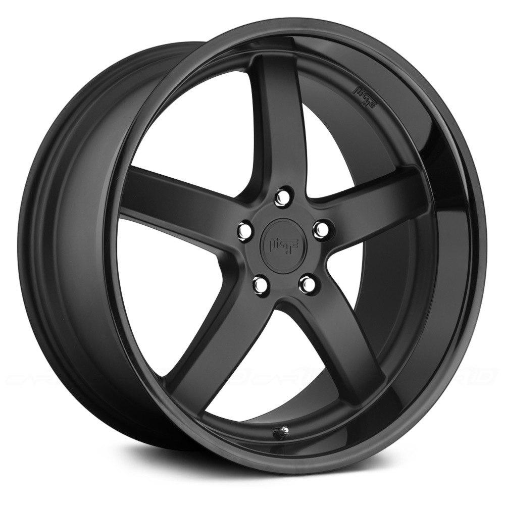 Niche 174 Pantano Wheels Matte Black Rims