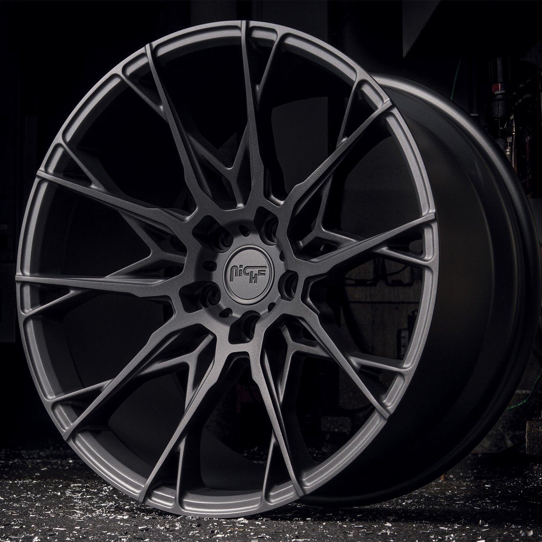 Niche 174 M183 Staccato Wheels Matte Black Rims