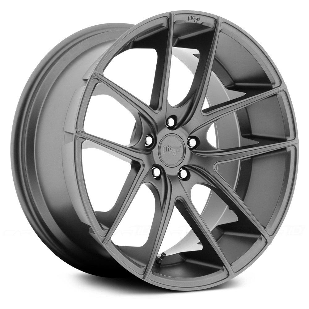 2015 Ford Fusion Rims >> NICHE® M129 TARGA Wheels - Gunmetal Rims
