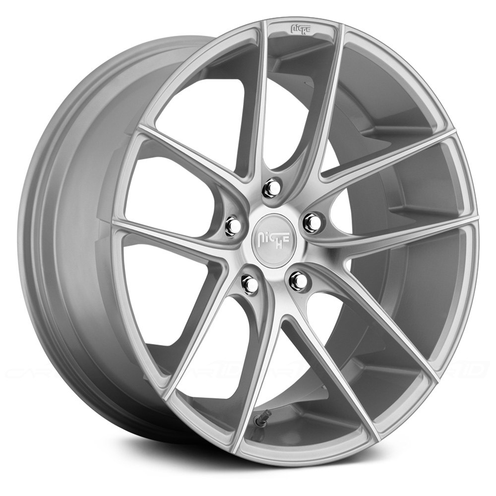 niche m131 targa wheels silver with machined face rims BMW M1 niche targa silver with machined face