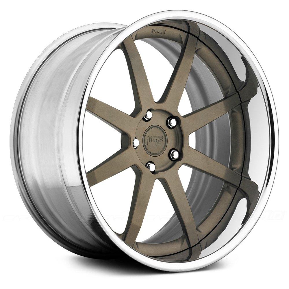 Niche 174 Vector 3pc Wheels Custom Paint Rims