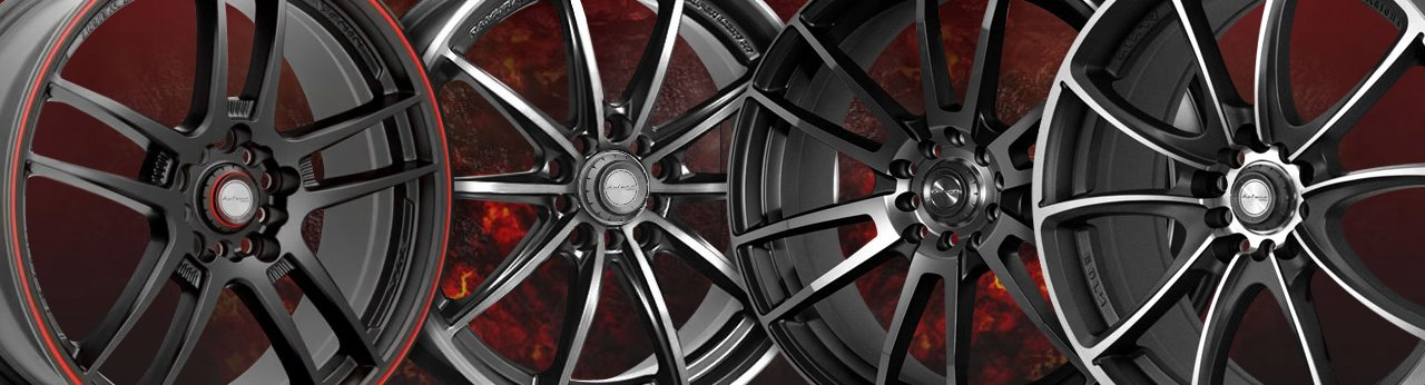 Universal Ninja WHEELS & RIMS