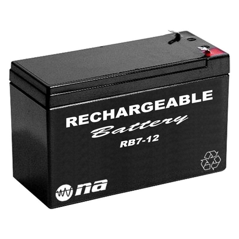 nippon america rb712 12v 7ah rechargeable battery. Black Bedroom Furniture Sets. Home Design Ideas