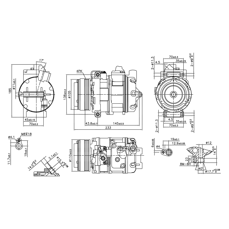 nissens u00ae 890292  c compressor