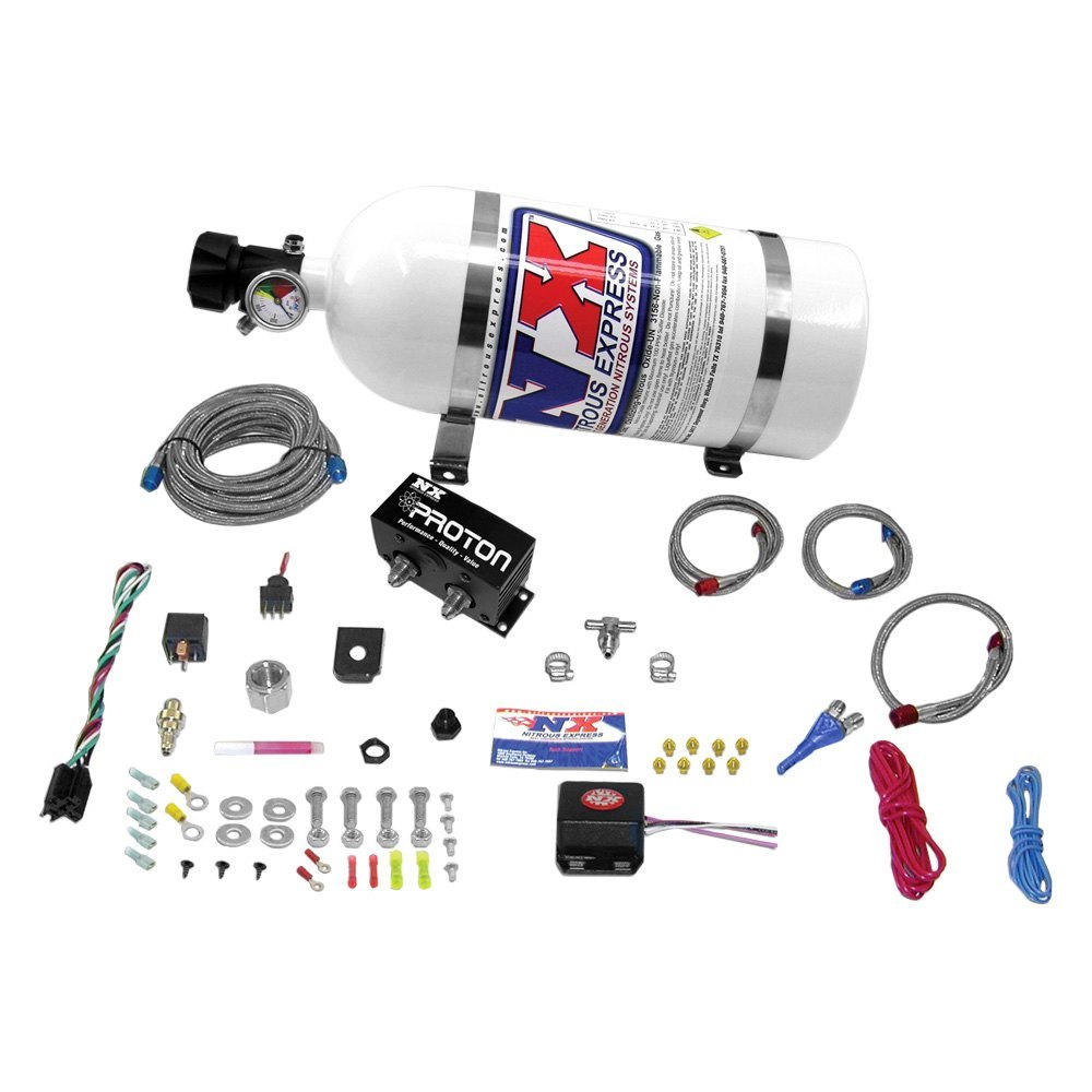 Nitrous Express® 20422-10 - Proton Series Fly By Wire Wet Nitrous System