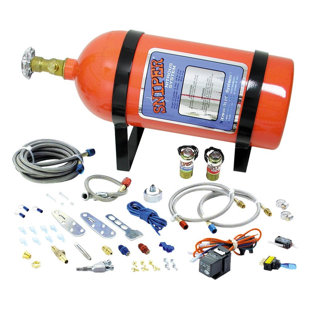 nitrous oxide kits with Sniper Nitrous System Mpn 07005nos on Animals Of The Nile together with Flaming Exhaust besides 167 furthermore Sniper Nitrous System Mpn 07005nos as well Edelbrock 5 Lb Nitrous Bottle Bracket Set.