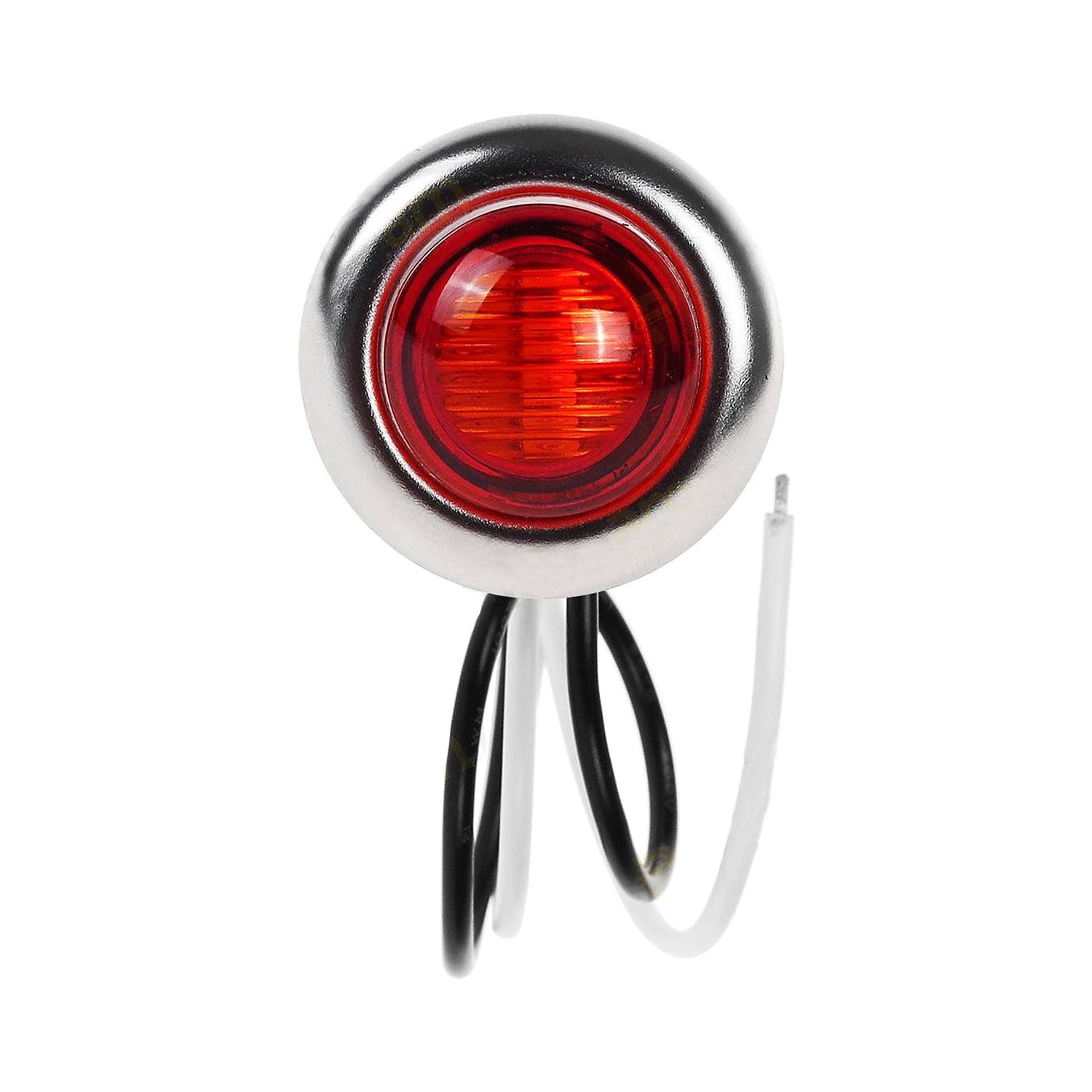 Nova Lux 174 5340 Mini 1 Quot Round Red Led Side Marker Light