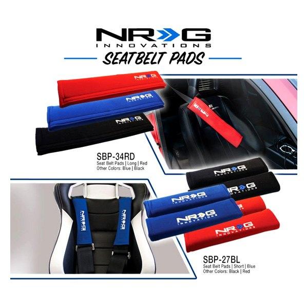 Nrg innovations sbp 35bk 3 5 harness pad black for Garage cheminal seat feurs