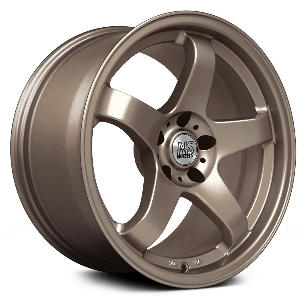 Ns Series 174 Drift M01 Wheels Bronze Rims