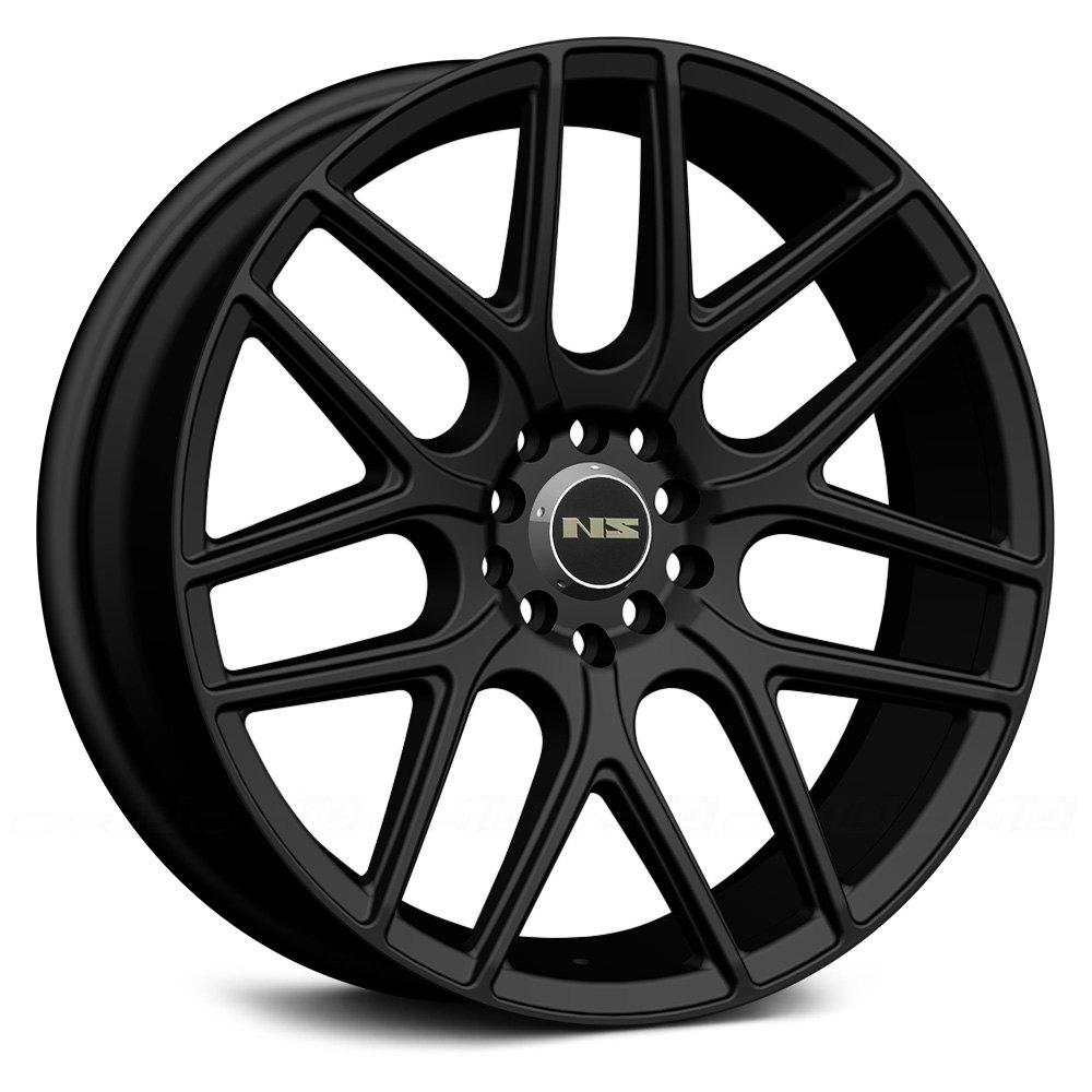 Ns Series 174 Ns1502 Wheels Matte Black Rims