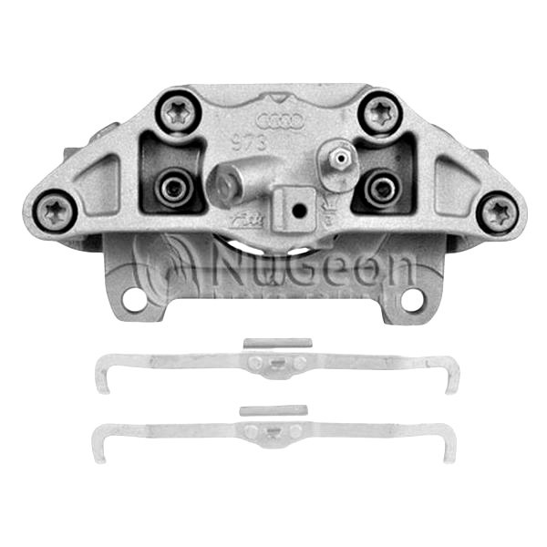 nugeon audi a4 2005 premium semi loaded remanufactured brake caliper. Black Bedroom Furniture Sets. Home Design Ideas