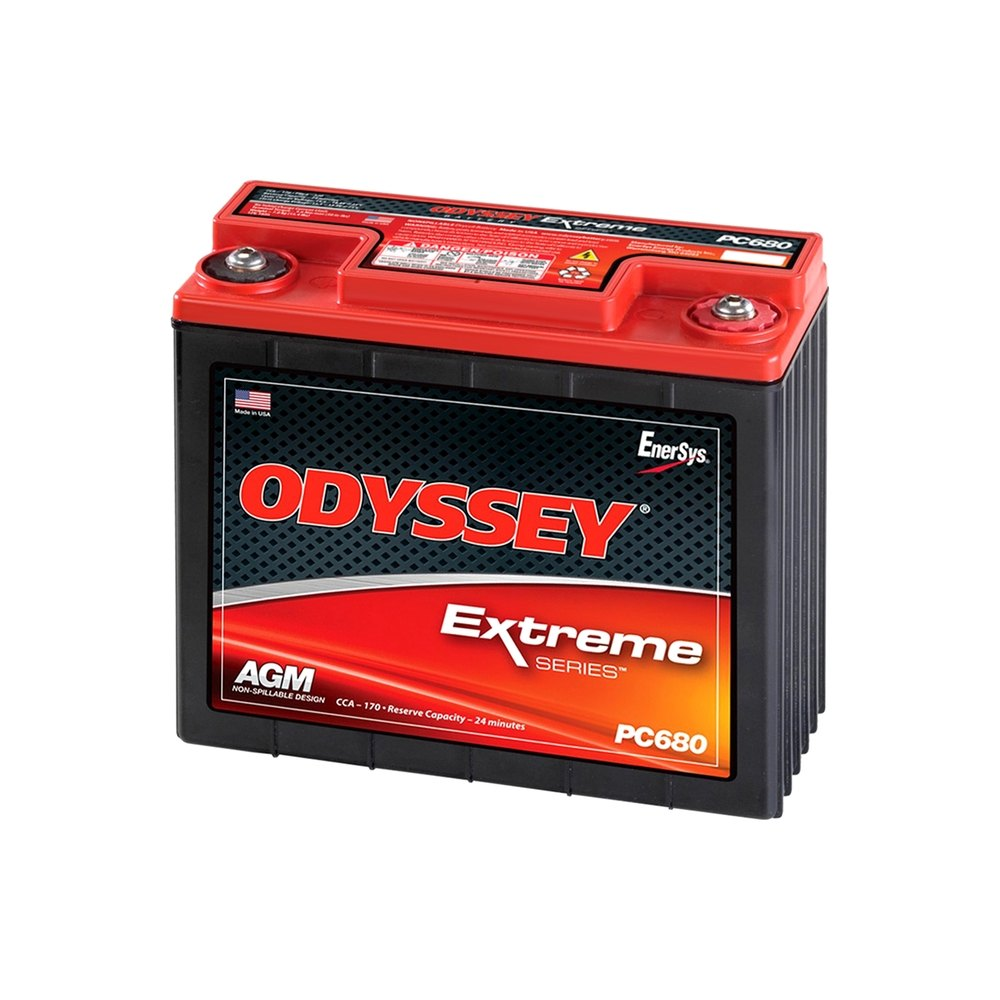 Odyssey Pc680 Extreme Series Motorcycle Battery