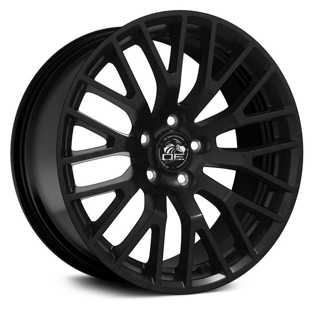 "OE Wheels® - 19"" Replica 10 Y Spokes Satin Black Factory Alloy Wheel"