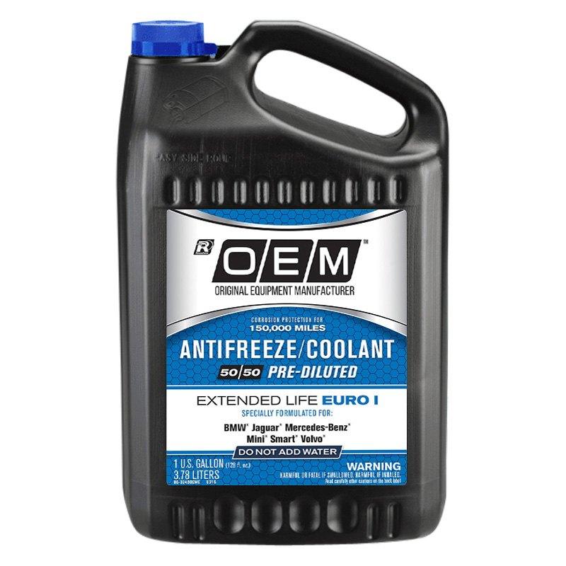 OEM Antifreeze/Coolant® - OEM Premium Extended Life Euro I  Antifreeze/Coolant