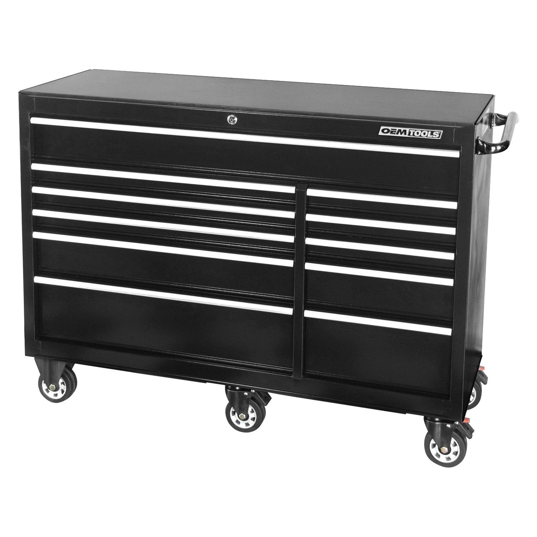 Oem tools 24580 black 56 11 drawer roller cabinet for Roller sideboard