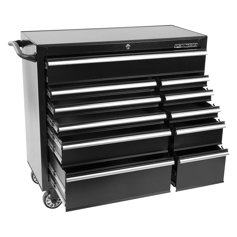 Oem tools 24583 black 41 11 drawer roller cabinet for Sideboard roller