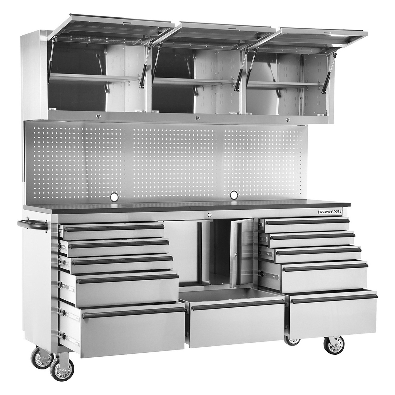 Oem Tools 174 24615 Stainless Steel 72 Quot 11 Drawer Cabinet