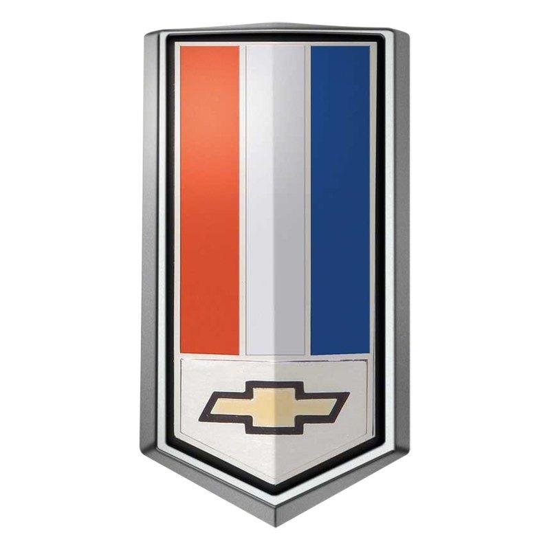 Oer Colored Fuel Door Emblem