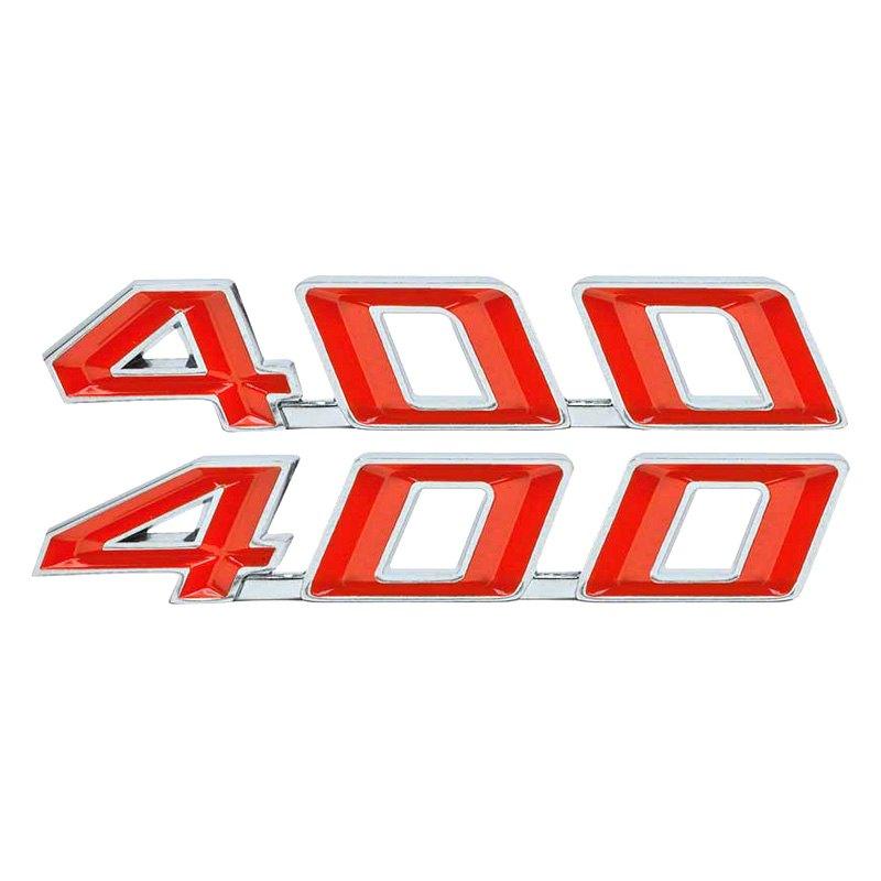 OER® - Pontiac Firebird 1967 Hood Emblems