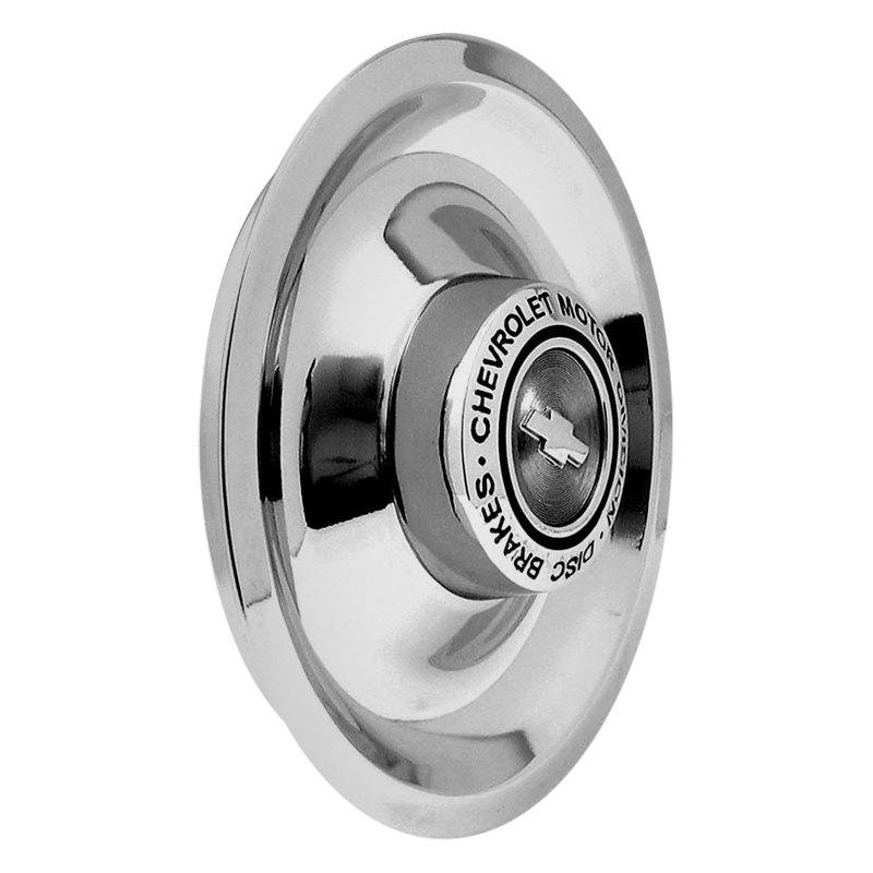 Oer Chrome Disc Brake Rally Wheel Center Cap With Words Chevrolet Motor Division