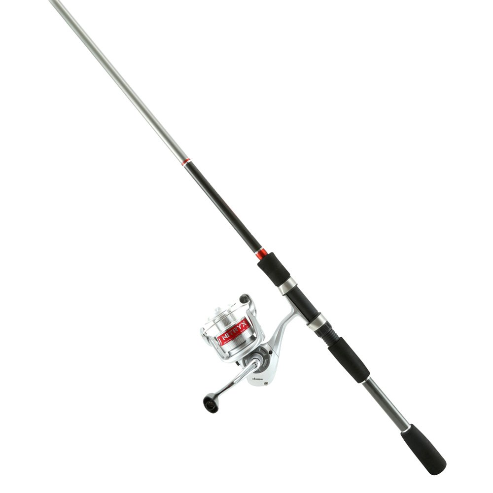 Okuma nitryx rod and reel spinning combo for Fishing rod and reel combo