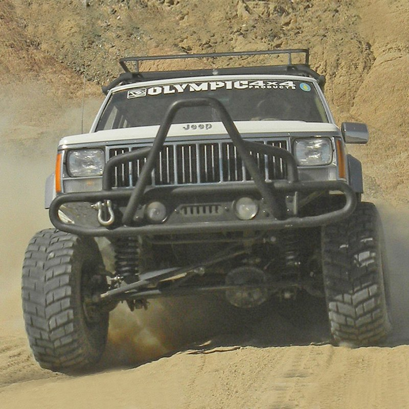olympic 4x4 jeep cherokee 1984 2001 boa extreme front bumper. Cars Review. Best American Auto & Cars Review