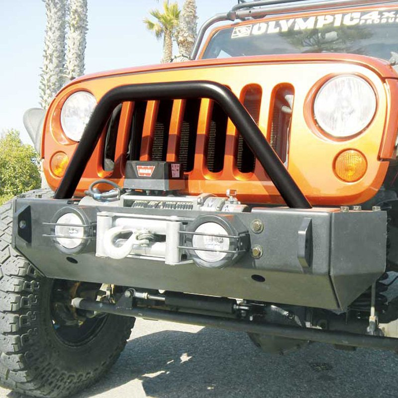 Olympic 4x4® - Jeep Wrangler 2014 Top Tube Grill Guard for Rescue and Smuggler Bumpers