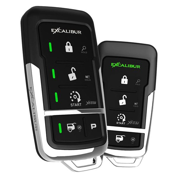 AL-1775-3DB Deluxe LED 2-Way Vehicle Security /& Remote Start system