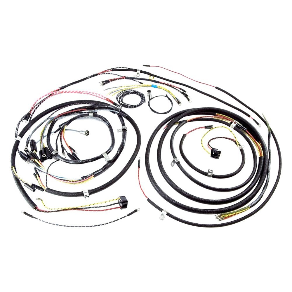 centech wiring harness for early bronco ramcharger wiring