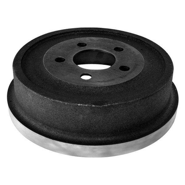 Scored Brake Drums : Omix ada rear brake drum