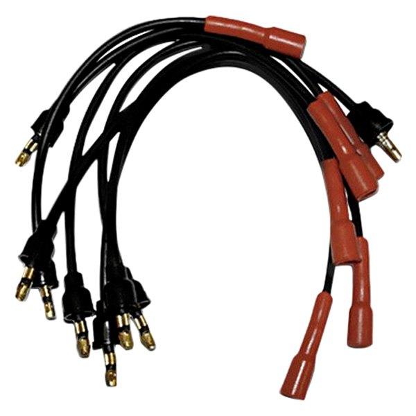 omix ada 174 jeep cj 1976 ignition wire set