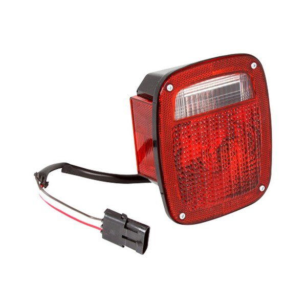 omix ada jeep wrangler 1987 1990 replacement tail light. Black Bedroom Furniture Sets. Home Design Ideas