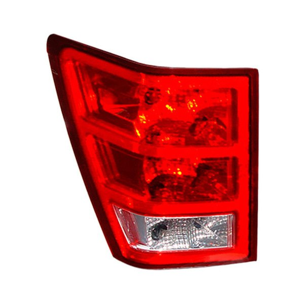 jeep grand cherokee 2007 2010 replacement chrome tail light assembly. Black Bedroom Furniture Sets. Home Design Ideas